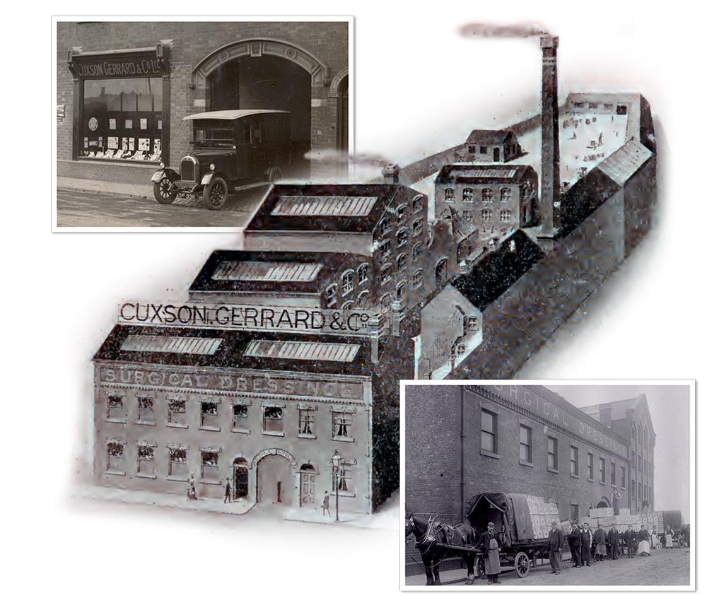 Cuxson Gerrard Factory